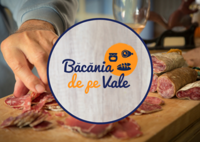 Băcănia de pe Vale (logo, print design, Facebook page creation & more)