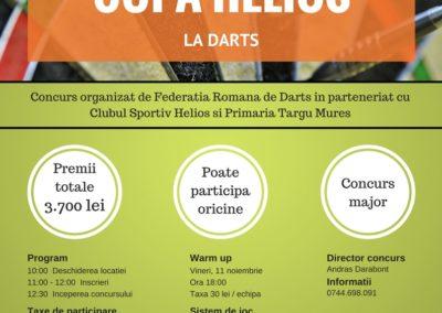 CS Helios Mures (contest poster design)