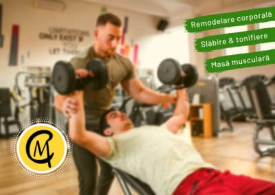 Cristi Munteanu Personal Trainer (Logo design, Facebook page creation, social media marketing)
