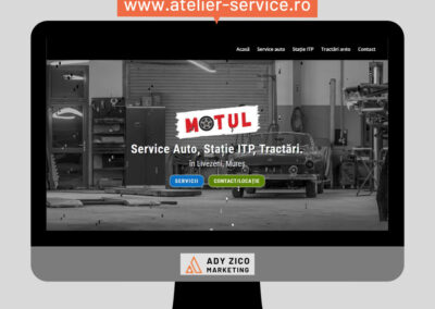 Motul Dolete Service, Livezeni, Mureș (website creation, content writing, OnSite SEO)