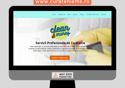 Mures Clean client